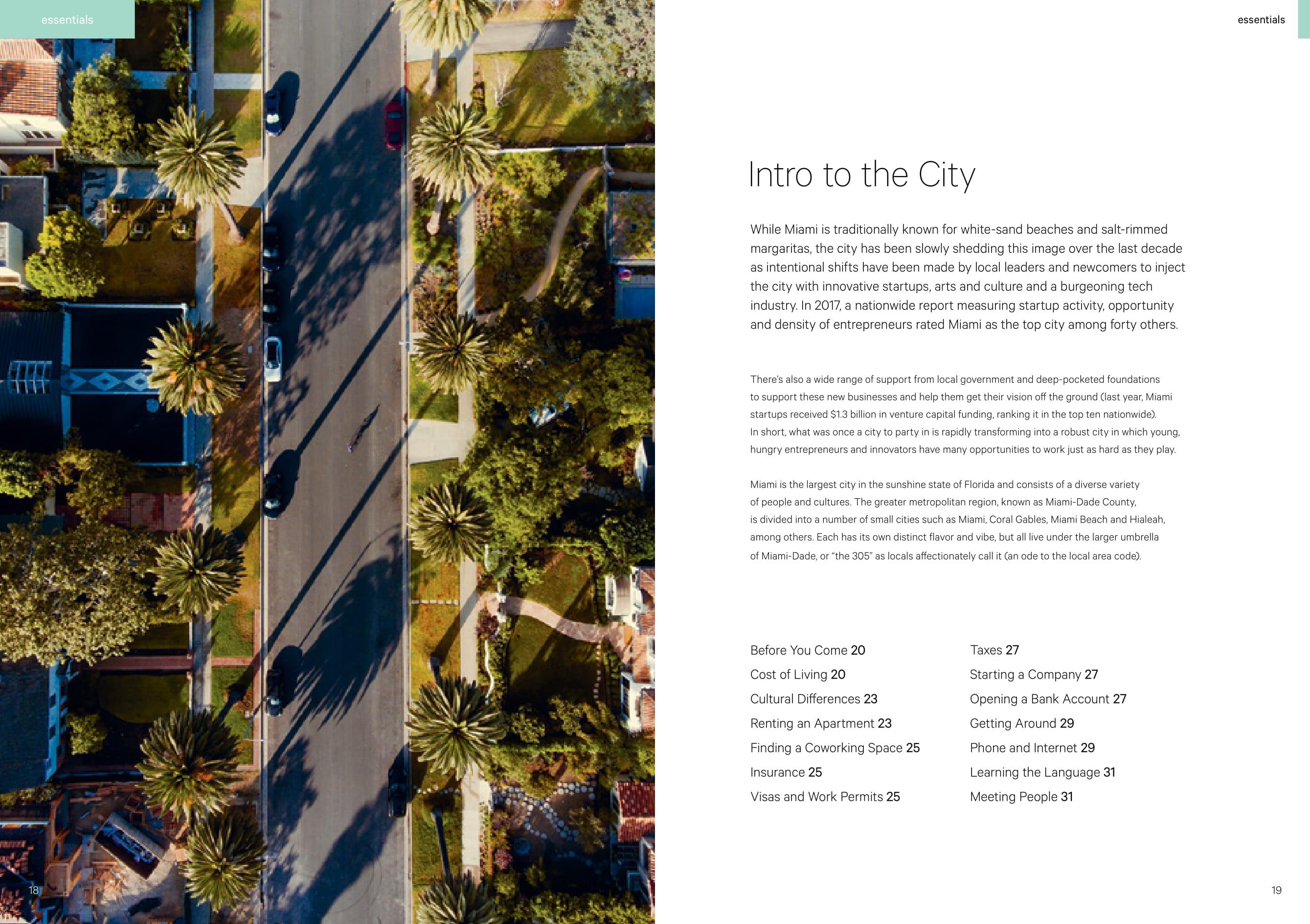 Startup Guide Miami